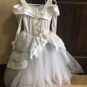 Disney store Cinderella deluxe wedding dress 5/6
